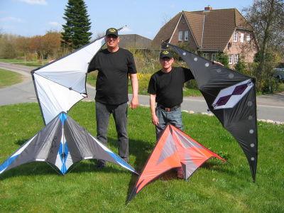 Bild Trickflug-Team KITE-WINGS Husum