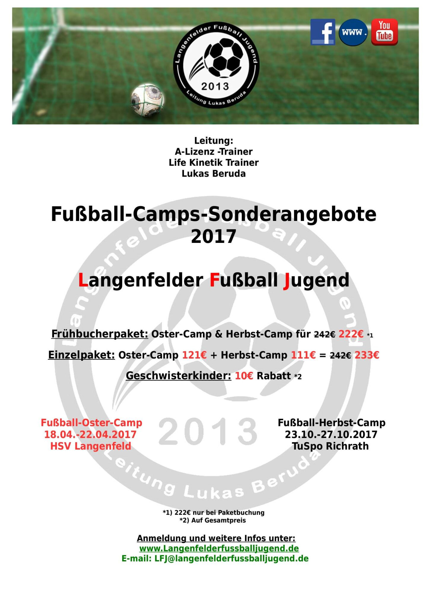 langenfelderfussballjugend - fußball-camps