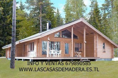 Casas de madera casas prefabricadas fabrica de caba as - Casas de madera canadienses en espana ...
