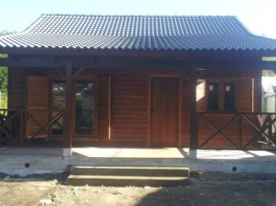 Casas de madera viviendas prefabricadas caba as de for Casas prefabricadas financiadas