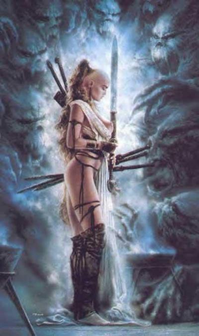 Я слишком многих прокляла, И меч мой жалости не знал, Я никому не отдала Св