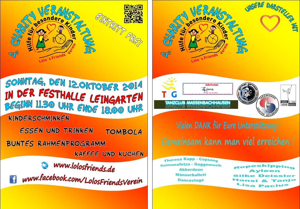 Lolo 39 s friends verein archiv 2014 - Endner leingarten ...