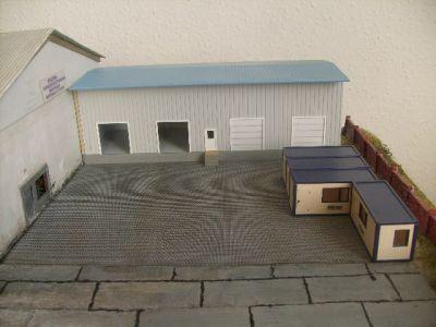 Adrion logistic boxberg baubericht 2 for Wohncontainer bausatz