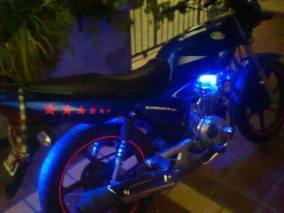 Tira led para moto