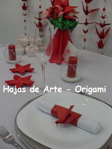 Origami Decoracion De Mesa ~ Contactame por talleres, para comprar papel para origami,
