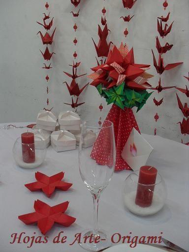 Origami Decoracion De Mesa ~ Decoraci?n Con Topi?rios Gigantes Topi?rio Kusudama Flor En La