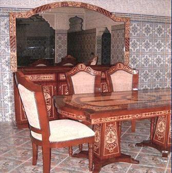 Ameublement marocain salle a manger - Salle a manger marocaine ...