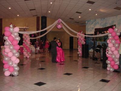 Magicos eventos decoracion para bodas y 15 a os for Decoracion de pared para 15