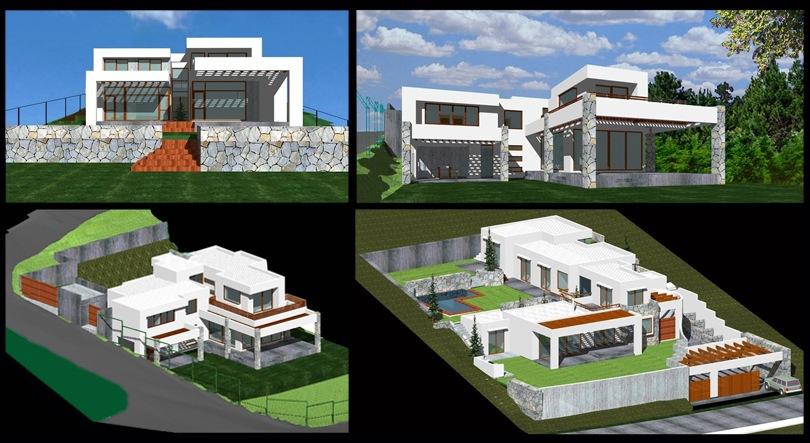 Marcelo roura arquitecto casas en pendiente - Casas en pendiente ...