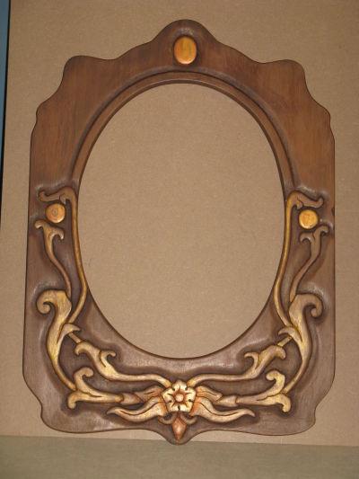 Espejos marcos tallados home for Espejos con marco de madera decorados