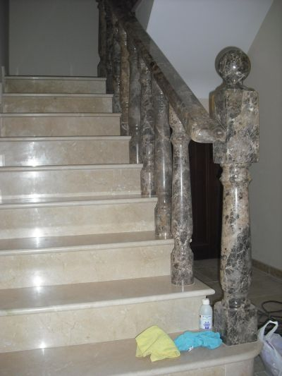M rmoles rodr guez carvajal columnas y balaustradas - Balaustradas de piedra ...