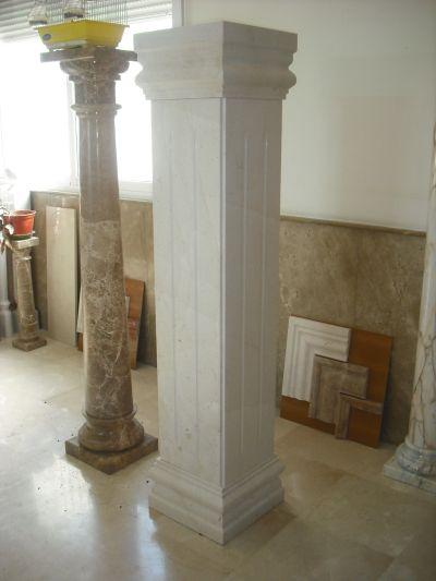 M rmoles rodr guez carvajal columnas y balaustradas - Molduras de marmol ...