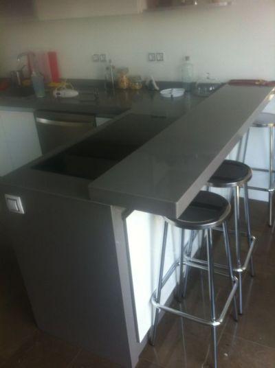 M rmoles rodr guez carvajal encimeras de cocina y ba o for Mesa cocina silestone