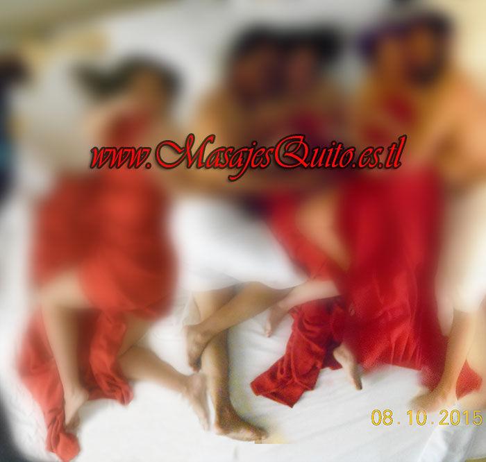 Servicio masaje orgía