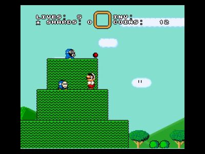 SMW2 3 The Essence Star - Golden Yoshi (Review) A5