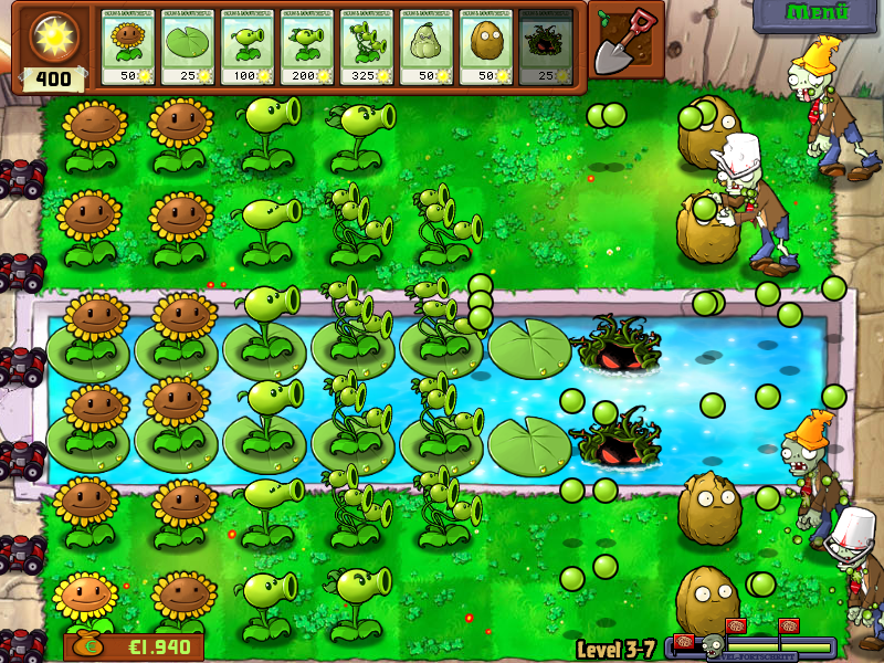 Pflanzen Gegen Zombies Vollversion