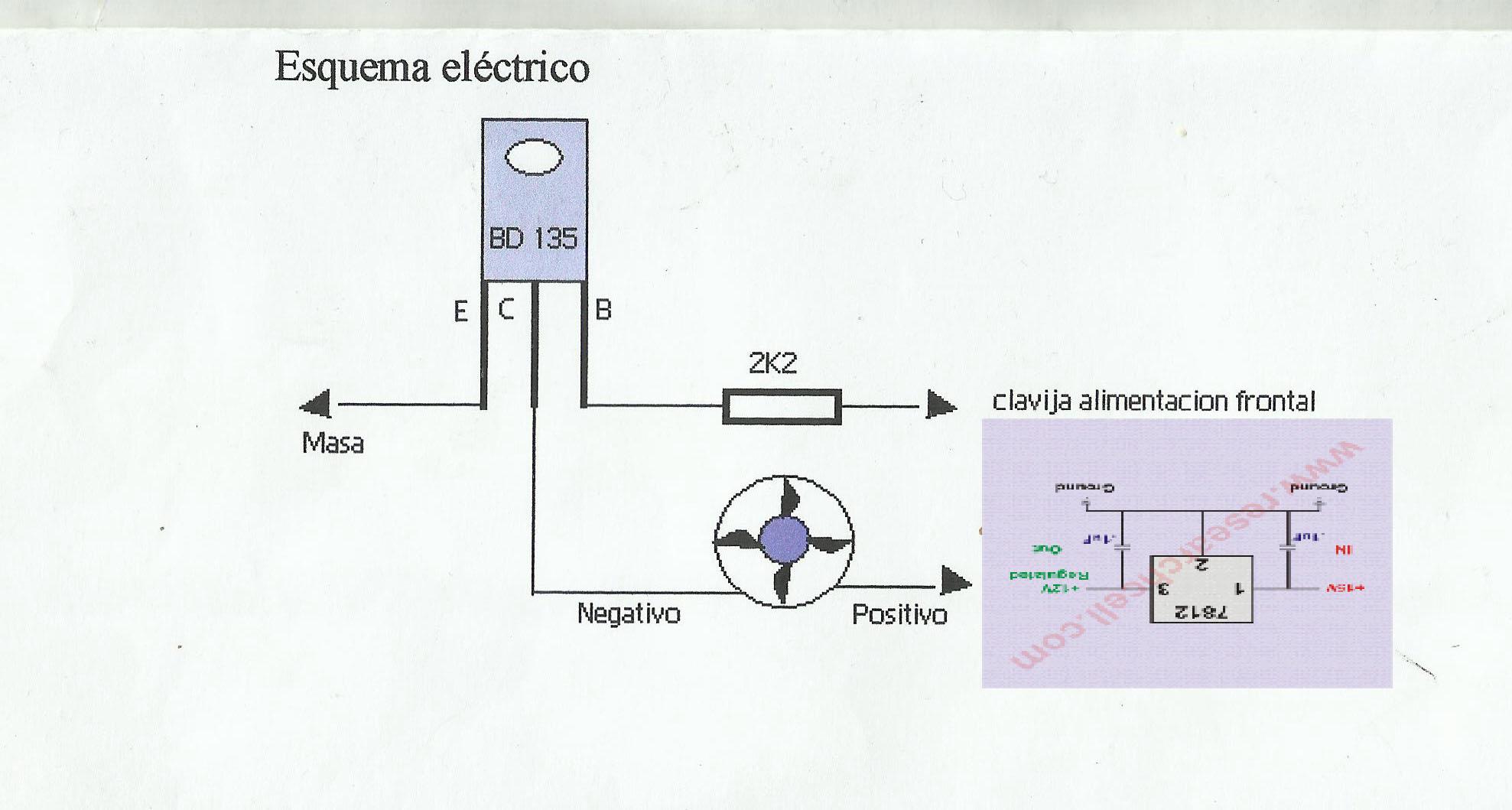 Circuito Ventilador : Solucionado excitador para ventilador en tv reparacion de