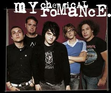 y letras de canciones de my chemical romance: