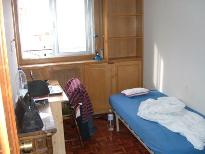 hala madrid hier wohne ich. Black Bedroom Furniture Sets. Home Design Ideas
