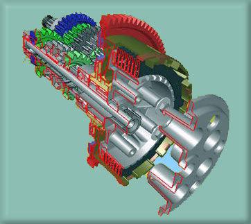 Üretimi yapilacak makine parçalarinin imalat resmini çizebilecek