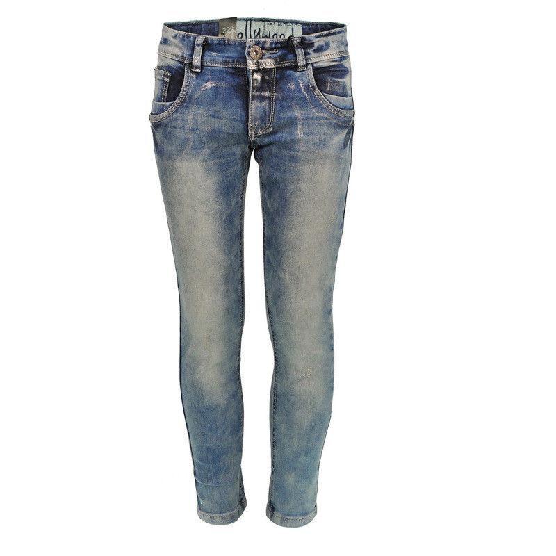 next level skinny jeans hollywood coated denim gr 140 146 152 m dchen neu ebay. Black Bedroom Furniture Sets. Home Design Ideas