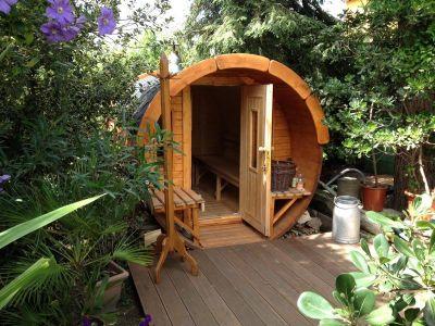 Fass sauna referenzbilder