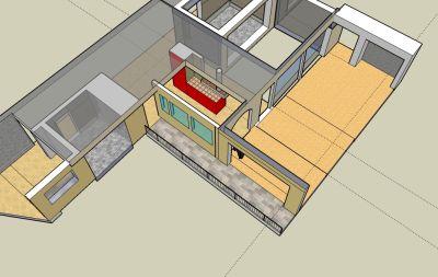 Msc dise o y reformas loft proyectos 3d de loft s for Loft reformas