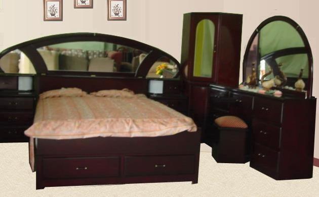 Muebleria bernui juego de dormitorios for Juego de dormitorio queen