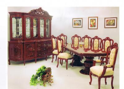 Internacional de classic muebles comedor luis xv for Comedor luis quince