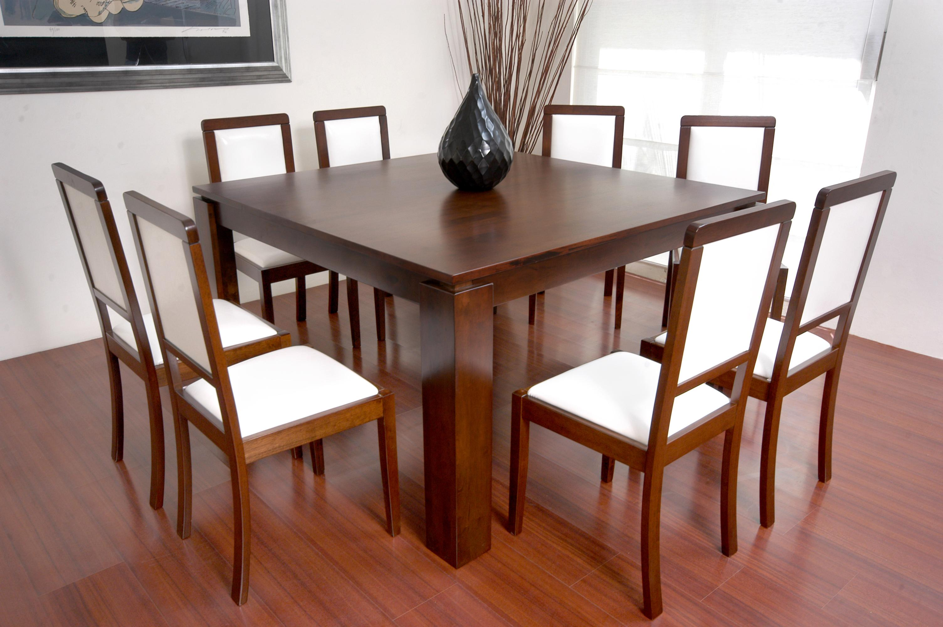 Antecomedor capri for Comedor 8 sillas madera