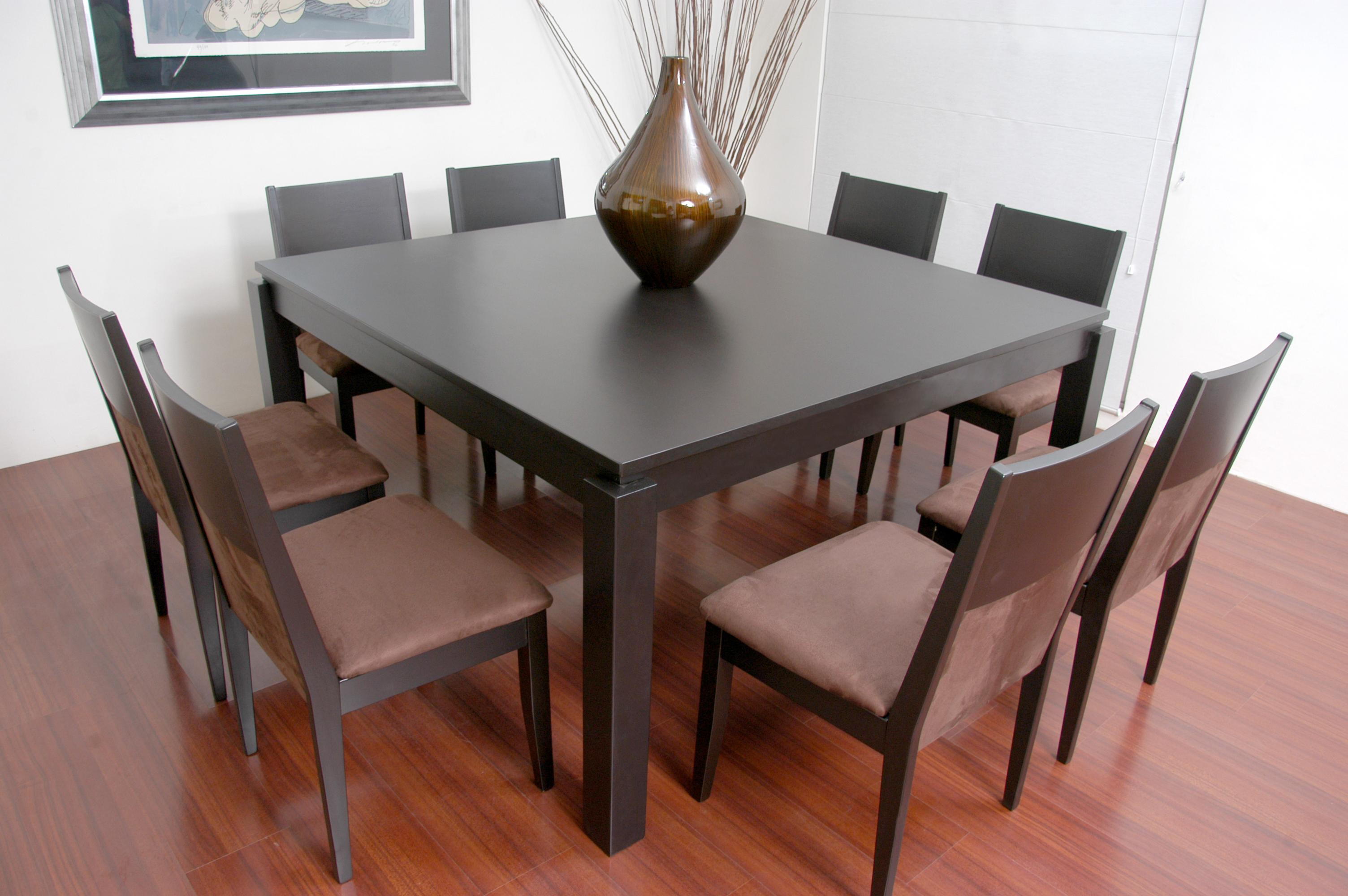 Antecomedor siena for Comedor 8 sillas madera