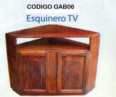 mueblesgabrielcr - GAB06 Mueble de TV esquinero