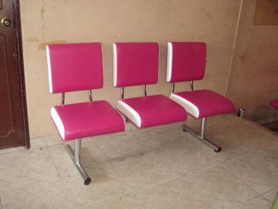 Muebles peluqueria sillas de espera - Sillas de espera para peluqueria ...