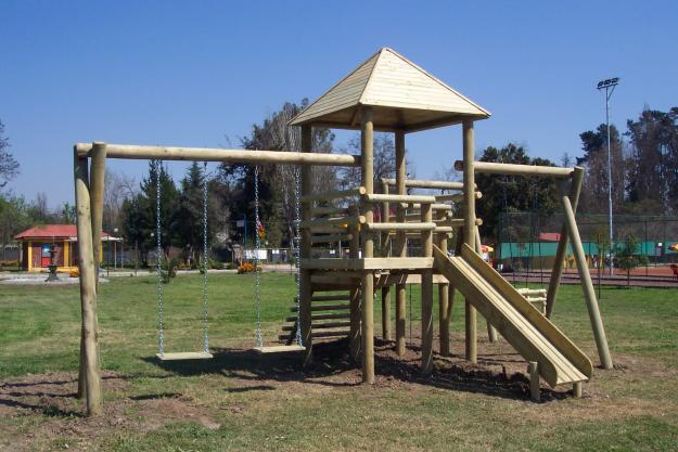 Juegos infantiles de madera para ni os imagui for Juegos de jardin infantiles de madera