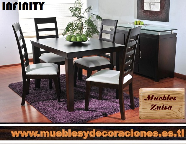 Muebles zuisa comedores for Muebles infinity