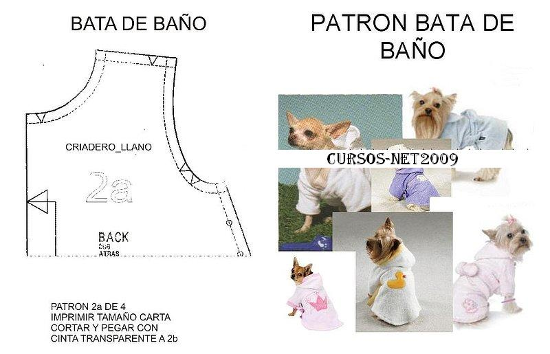 Salida De Baño Ninos Moldes:Pics Photos – Trazos Ropa Para Perros Ajilbab Com Portal