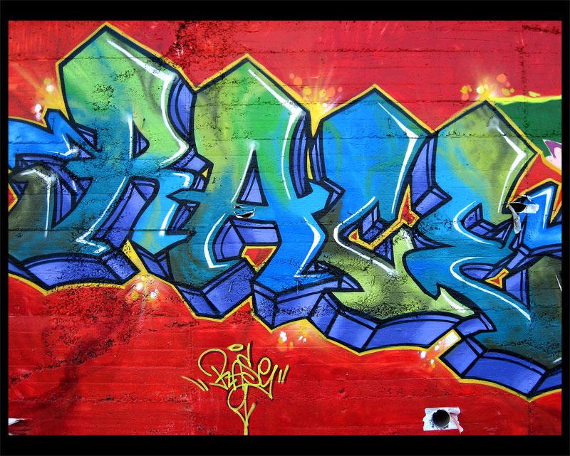 letras de los grafitis: