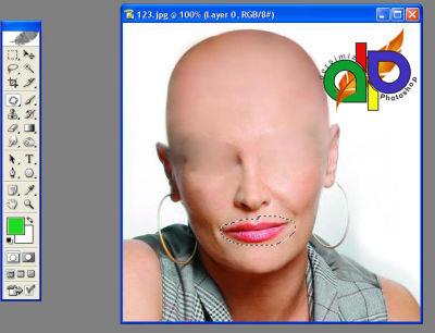 Photoshopta Duyu Organlarımızı Silmek