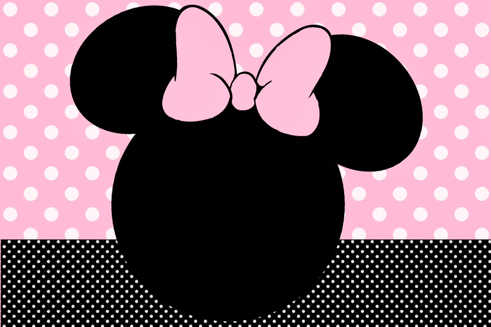 Minnie Mouse Baby Shower Invitations Templates with great invitation ideas
