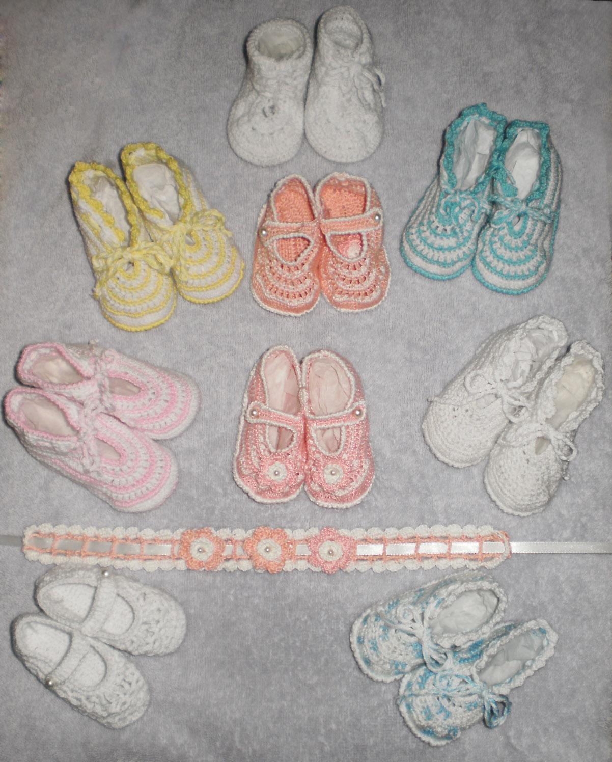 Zapatos tejidos para bebes, diferentes modelos, ¡entra y ve , por un ...