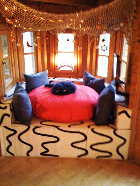 hier wohnen die m dels etage kuschel ecke nekos. Black Bedroom Furniture Sets. Home Design Ideas