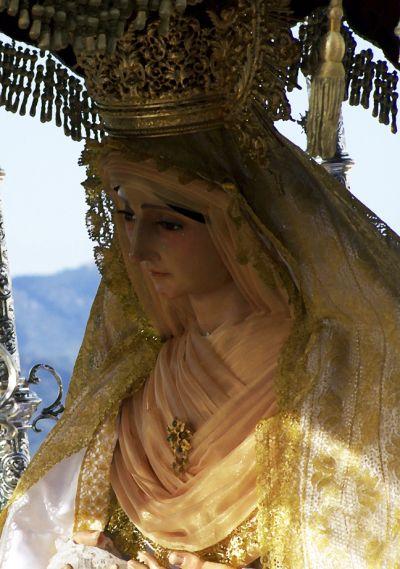 Virgen de los Dolores en la magna mariana de 2010