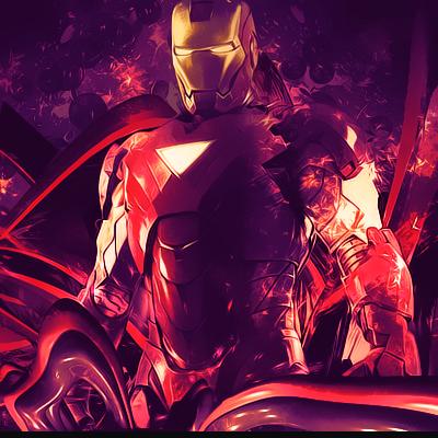 Iron Man - C4D  Ironman2