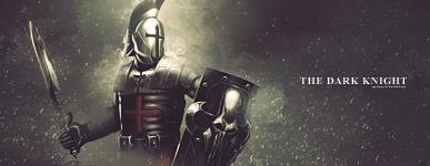 The dark Knight - Firma simple Tutoxdp