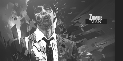 [Expo] Zombie man Zombieman