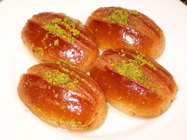 Sevdiğim nadir şerbetli tatlılar dan biridir şekerpare