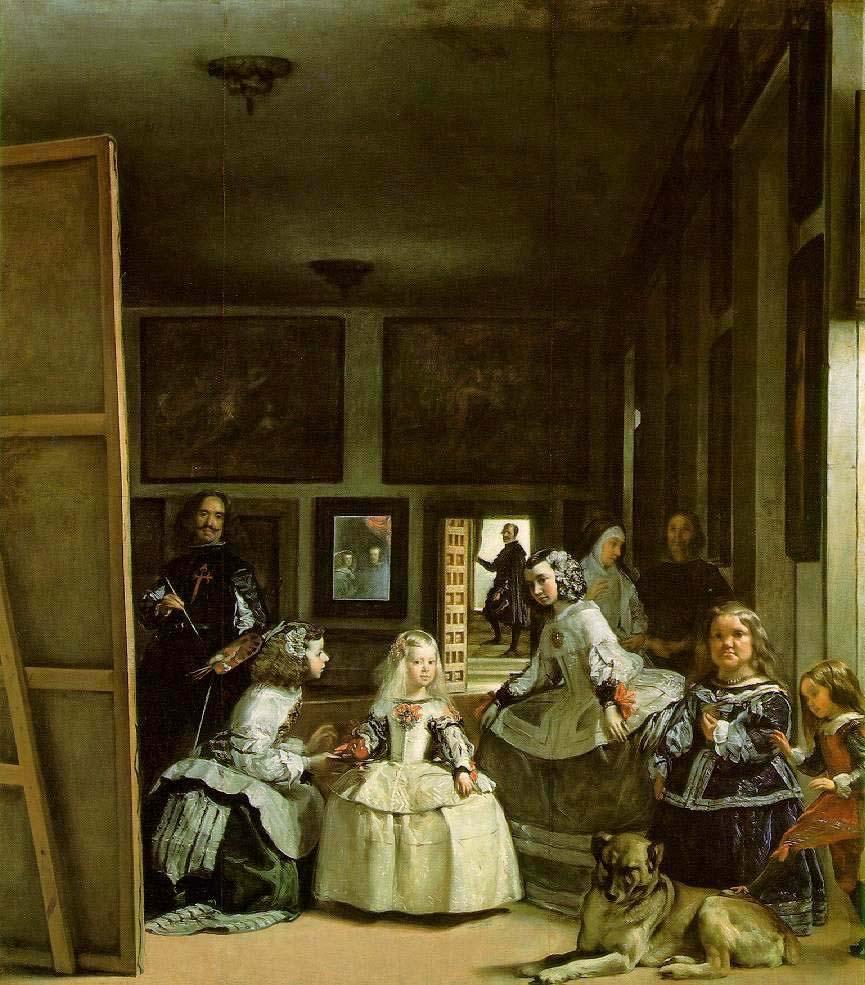 La familia de Felipe IV LAS MENINAS 1656 Diego Velázquez