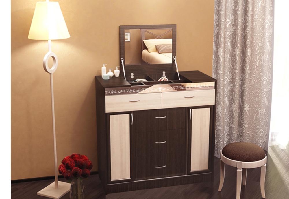 мебели - стол с зеркалом для косметики