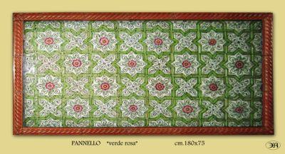 Nina tasso progettare la decorazione mattonelle decorate - Mattonelle in ceramica decorate ...