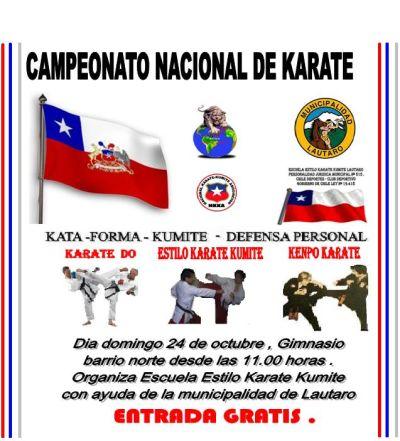 karate en chile: